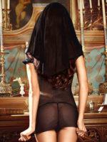 Sexy Nun Habit And Sheer Dress Adult Costume