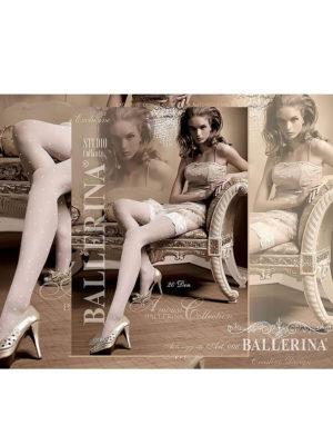 Ballerina Art.006 Hold Up Stockings (white)