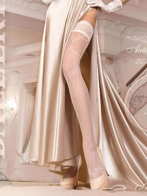 Ballerina Art.249 Hold Up Stockings (avorio/ivory)