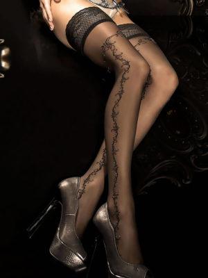 Ballerina Art.285 Hold Up Stockings (black)