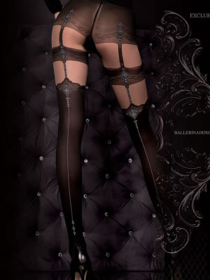 Ballerina Art.300 Exclusive Design Tights (black)