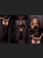 Ballerina Art.301 Exclusive Design Tights (black/skin)