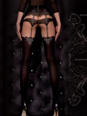 Ballerina Art.302 Exclusive Design Tights (black/skin)