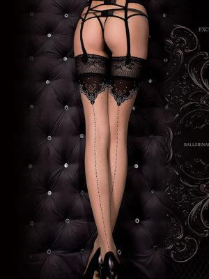Ballerina Art.317 Hold Up Stockings (black)