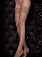 Ballerina Art.325 Hold Up Stockings (black/skin)