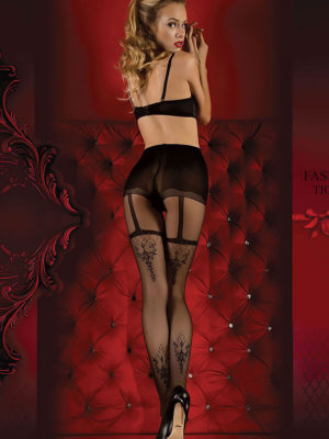 Ballerina Art.347 Exclusive Design Tights (black)