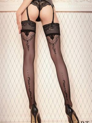Ballerina Art.423 Hold Up Stockings (black)