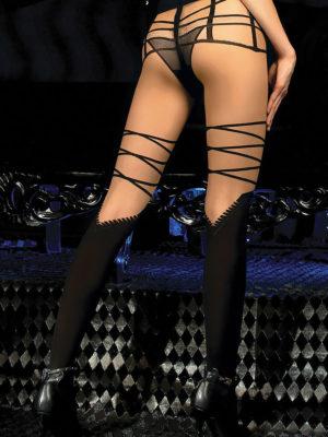 Ballerina Art.455 Exclusive Design Tights (black/skin)