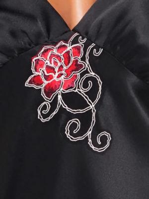 Irall Satin Collection 'dakota' Nightdress (black)