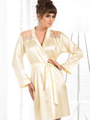 Irall Satin Collection 'daphne' Robe (cream)