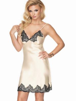Irall Satin Collection 'juniper' Nightdress (cream)