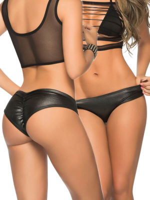 Mapalé Mix And Match Stage Wear Wetlook Scrunch Panty