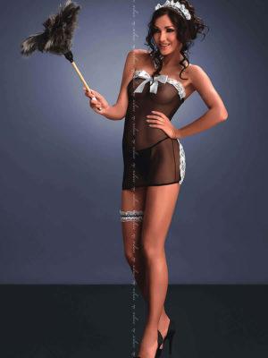 Me Seduce 'flavia – Sexy Maid' Erotic Fantasy Lingerie (black)