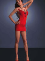 Me Seduce 'lara' Erotic Fantasy Ultra-sexy Clubwear Dress (red)