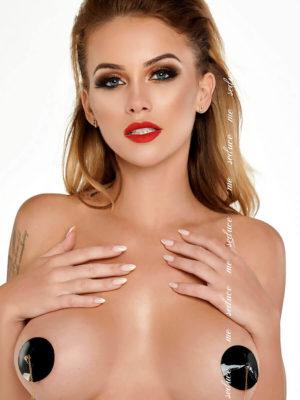 Me Seduce 'nipple Covers' 056 Erotic Fantasy Lingerie (black)