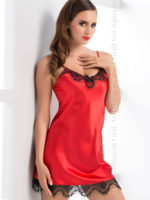 Irall Satin Collection 'molly' Nightdress (hot Red)