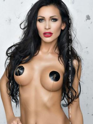 Me Seduce 'nipple Covers' 017 Erotic Fantasy Lingerie (black)