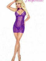 Provocative Seduction Po6002 Purple Seduction Chemise (purple)