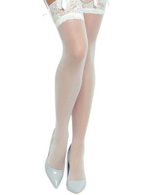 Provocative Seduction Pr0250 Hold Up Stockings (white)