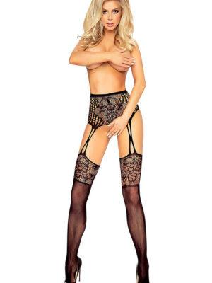 Provocative Seduction Pr1418 Garter Stocking (black)