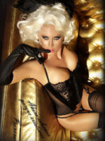 Provocative Seduction Pr3410 Romance Divino Corset (black)