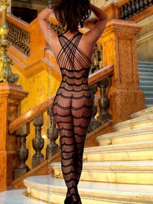 Provocative Seduction Pr4188 Bodystocking (black)