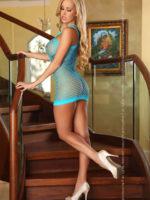 Provocative Seduction Pr4558 Sexy Dress (turquoise)