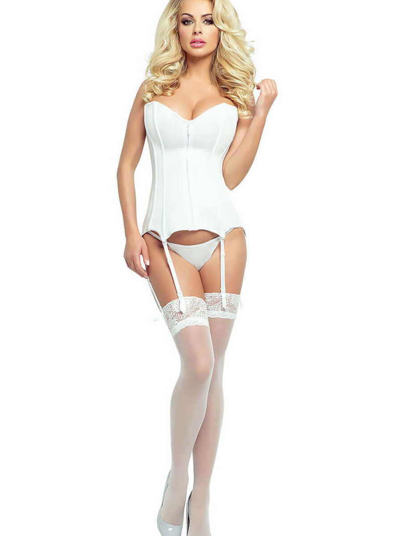 Provocative Seduction Pr1887 Corset (white)
