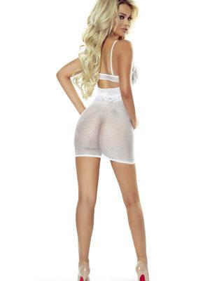 Provocative Seduction Pr4956 Sexy Dress (white)