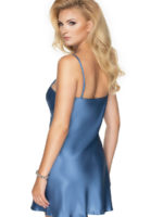 Irall Satin Collection 'sapphire I' Nightdress (azure)