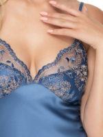 Irall Satin Collection 'sapphire Ii' Nightdress (azure)