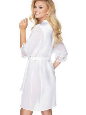 Irall Satin Collection 'sharon' Robe (white)