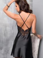 Irall Satin Collection 'sharon' Nightdress (black)