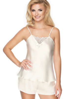 Irall Satin Collection 'tori' Camisoles (ivory)